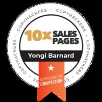 Certified Conversion copywriter